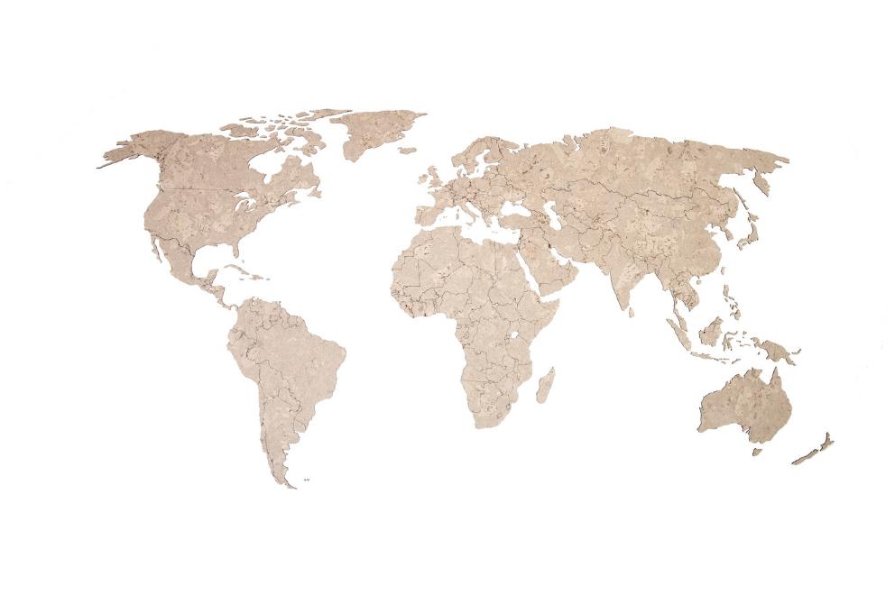 Rio world map
